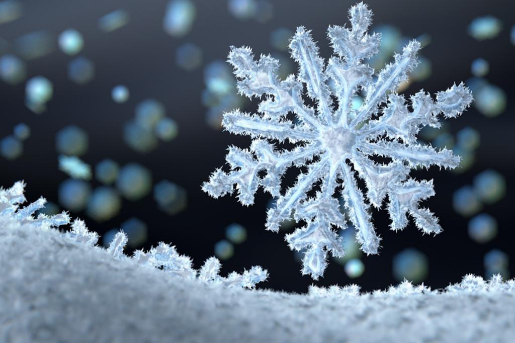 Những con số may mắn khi mơ thấy tuyết, bông tuyết
